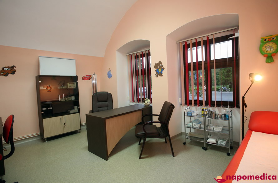 Centrul Medical Napomedica Gherla Cluj - Cabinet pediatrie