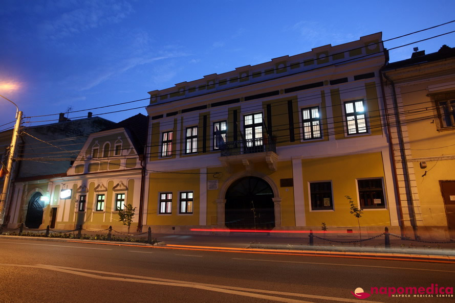Centrul Medical Napomedica Gherla Cluj - Detalii exterior
