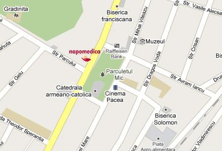 Centrul Medical Napomedica Gherla Cluj-Imagini Contact