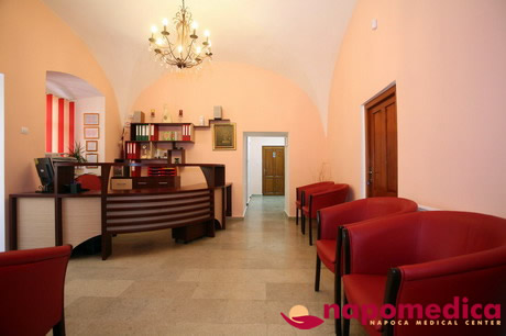 Centrul Medical Napomedica Gherla Cluj - Receptie parter